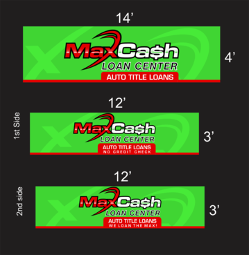Max Cash Building signs Marketing collateral  Draft # 19 by asifwarsi