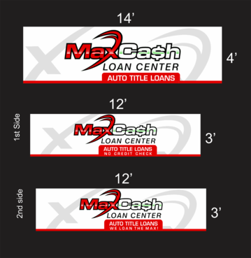 Max Cash Building signs Marketing collateral  Draft # 20 by asifwarsi
