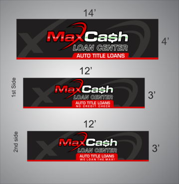 Max Cash Building signs Marketing collateral  Draft # 22 by asifwarsi