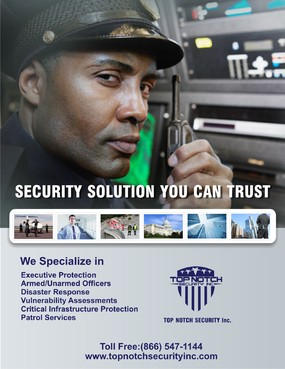 Security Solution you can Trust Marketing collateral  Draft # 105 by syukurkurnia