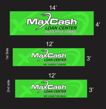 Max Cash Building signs Marketing collateral  Draft # 24 by asifwarsi