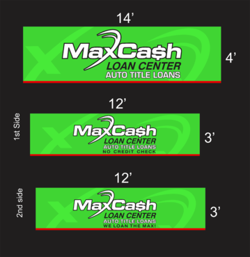 Max Cash Building signs Marketing collateral  Draft # 25 by asifwarsi