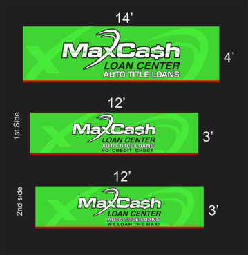 Max Cash Building signs Marketing collateral  Draft # 26 by asifwarsi