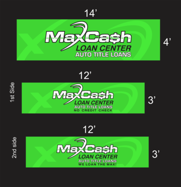 Max Cash Building signs Marketing collateral  Draft # 27 by asifwarsi