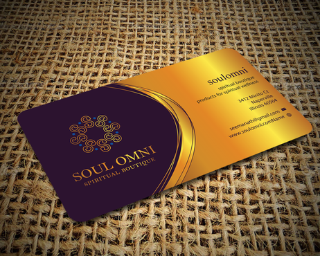 SOUL OMNI Spiritual Products Business Cards and Stationery  Draft # 293 by sufyan25