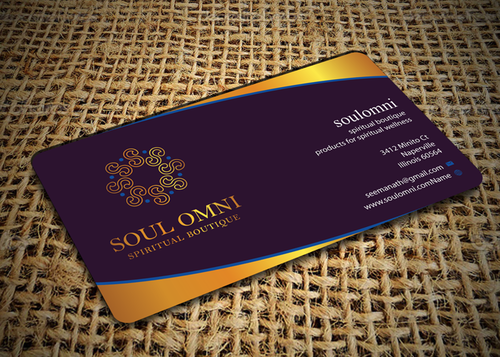 SOUL OMNI Spiritual Products Business Cards and Stationery  Draft # 296 by sufyan25