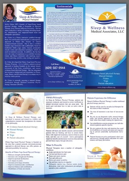 Sleep & Wellness Medical Associates Marketing collateral  Draft # 1 by unresolve