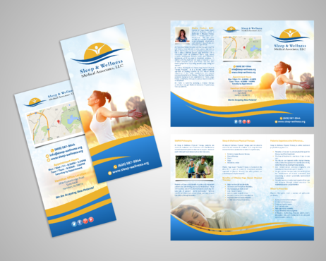 Sleep & Wellness Medical Associates Marketing collateral  Draft # 2 by Kaiza