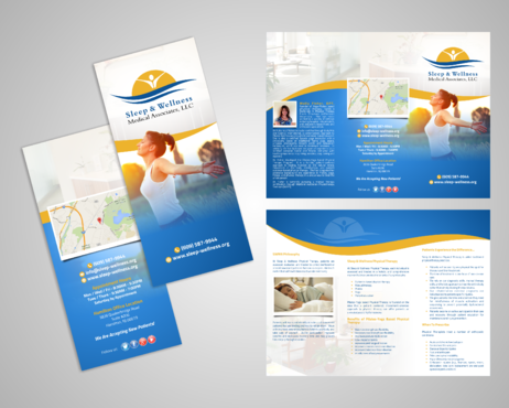Sleep & Wellness Medical Associates Marketing collateral  Draft # 3 by Kaiza