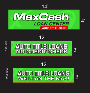 Max Cash Building signs Marketing collateral  Draft # 29 by asifwarsi