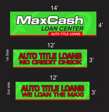 Max Cash Building signs Marketing collateral  Draft # 30 by asifwarsi