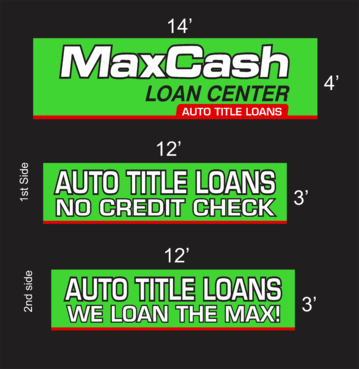 Max Cash Building signs Marketing collateral  Draft # 31 by asifwarsi