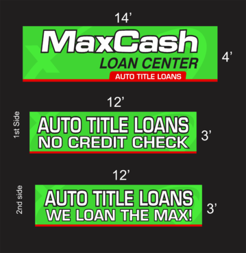 Max Cash Building signs Marketing collateral  Draft # 32 by asifwarsi