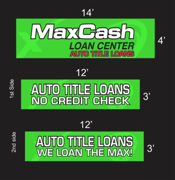 Max Cash Building signs Marketing collateral  Draft # 33 by asifwarsi