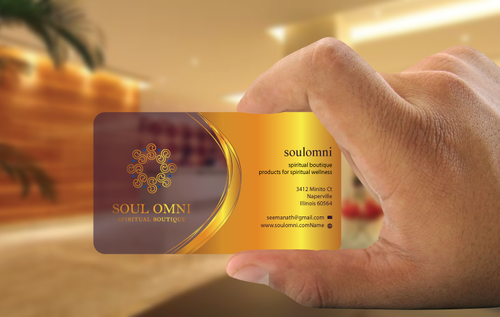 SOUL OMNI Spiritual Products Business Cards and Stationery  Draft # 301 by sufyan25