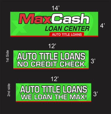 Max Cash Building signs Marketing collateral  Draft # 34 by asifwarsi