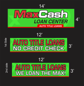 Max Cash Building signs Marketing collateral  Draft # 35 by asifwarsi