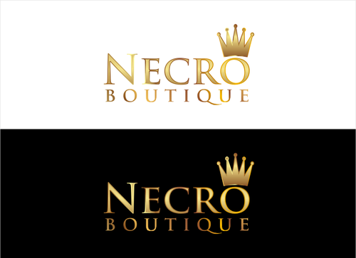 Necro Boutique A Logo, Monogram, or Icon  Draft # 6 by dhira