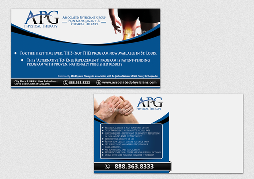 "This ""Alternative To Knee Replacement"" Program Now Available In St. Louis! Marketing collateral  Draft # 1 by ganesganesh"