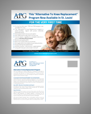 "This ""Alternative To Knee Replacement"" Program Now Available In St. Louis! Marketing collateral  Draft # 3 by Kaiza"
