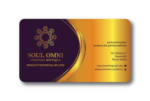 SOUL OMNI Spiritual Products Business Cards and Stationery  Draft # 315 by sufyan25