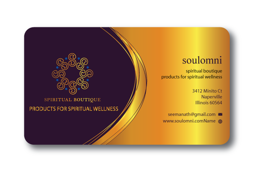 SOUL OMNI Spiritual Products Business Cards and Stationery  Draft # 316 by sufyan25