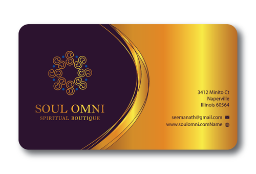 SOUL OMNI Spiritual Products Business Cards and Stationery  Draft # 317 by sufyan25
