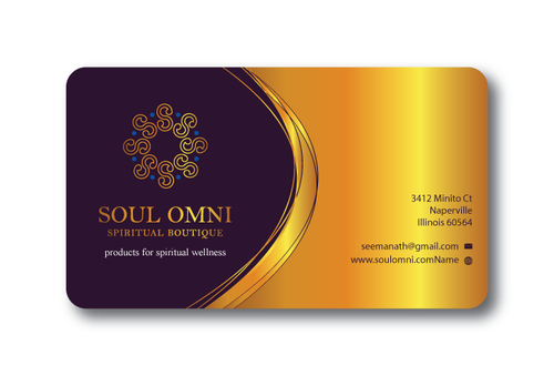 SOUL OMNI Spiritual Products Business Cards and Stationery  Draft # 318 by sufyan25