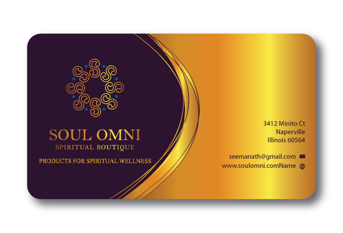 SOUL OMNI Spiritual Products Business Cards and Stationery  Draft # 319 by sufyan25