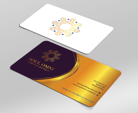 SOUL OMNI Spiritual Products Business Cards and Stationery  Draft # 322 by sufyan25