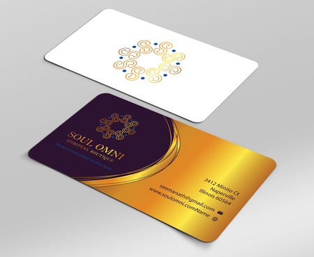 SOUL OMNI Spiritual Products Business Cards and Stationery Winning Design by sufyan25