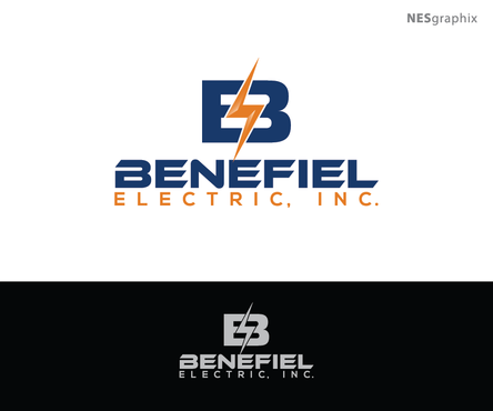 Benefiel Electric, Inc. A Logo, Monogram, or Icon  Draft # 397 by nesgraphix