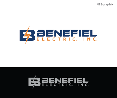 Benefiel Electric, Inc. A Logo, Monogram, or Icon  Draft # 398 by nesgraphix