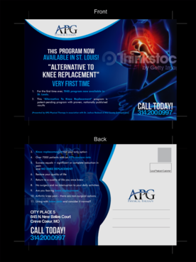 "This ""Alternative To Knee Replacement"" Program Now Available In St. Louis! Marketing collateral  Draft # 9 by asifwarsi"