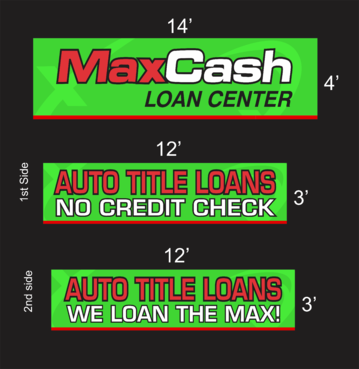Max Cash Building signs Marketing collateral Winning Design by asifwarsi