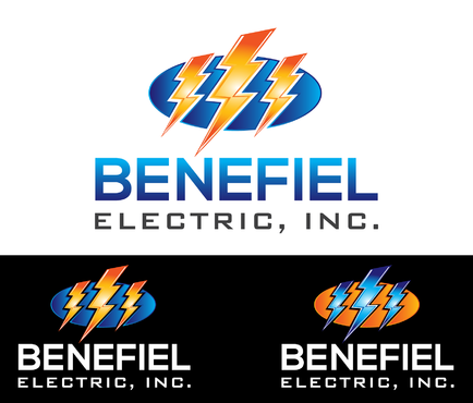 Benefiel Electric, Inc. A Logo, Monogram, or Icon  Draft # 452 by Samdesigns