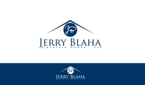 Jerry Blaha Signature Homes, LLC A Logo, Monogram, or Icon  Draft # 2 by jasmen