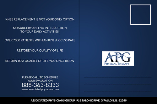"This ""Alternative To Knee Replacement"" Program Now Available In St. Louis! Marketing collateral  Draft # 21 by papertub"