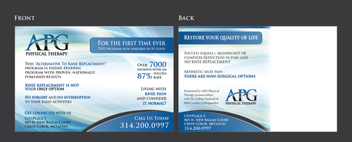 "This ""Alternative To Knee Replacement"" Program Now Available In St. Louis! Marketing collateral  Draft # 25 by Achiver"