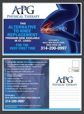 "This ""Alternative To Knee Replacement"" Program Now Available In St. Louis! Marketing collateral  Draft # 27 by destudio"