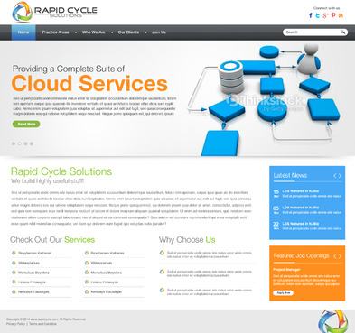 Rapid Cycle Solutions Complete Web Design Solution  Draft # 92 by aayanraza