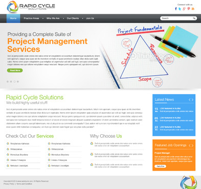 Rapid Cycle Solutions Complete Web Design Solution  Draft # 93 by aayanraza
