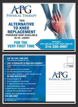 "This ""Alternative To Knee Replacement"" Program Now Available In St. Louis! Marketing collateral  Draft # 28 by destudio"