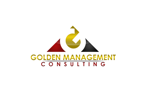 GOLDEN MANAGEMENT CONSULTING A Logo, Monogram, or Icon  Draft # 4 by FreelanceDan