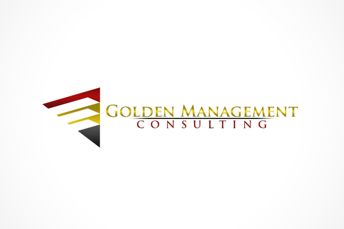 GOLDEN MANAGEMENT CONSULTING A Logo, Monogram, or Icon  Draft # 5 by FreelanceDan