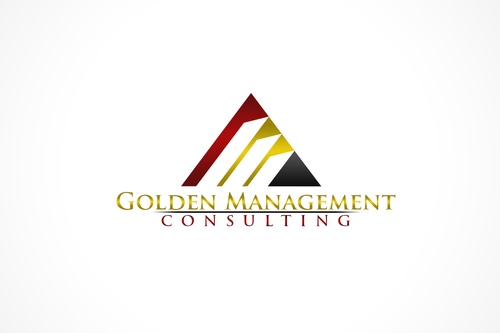 GOLDEN MANAGEMENT CONSULTING A Logo, Monogram, or Icon  Draft # 6 by FreelanceDan