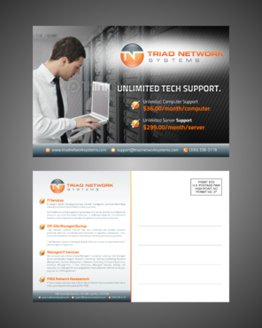 Triad Network Systems Marketing collateral  Draft # 3 by Kaiza
