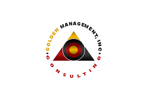 GOLDEN MANAGEMENT CONSULTING A Logo, Monogram, or Icon  Draft # 8 by FreelanceDan