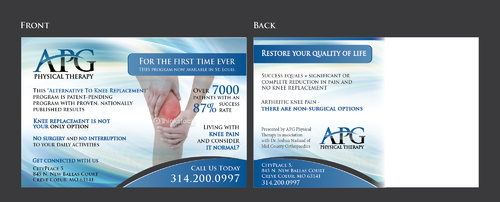 "This ""Alternative To Knee Replacement"" Program Now Available In St. Louis! Marketing collateral  Draft # 32 by Achiver"