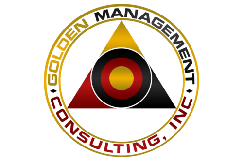 GOLDEN MANAGEMENT CONSULTING A Logo, Monogram, or Icon  Draft # 11 by FreelanceDan